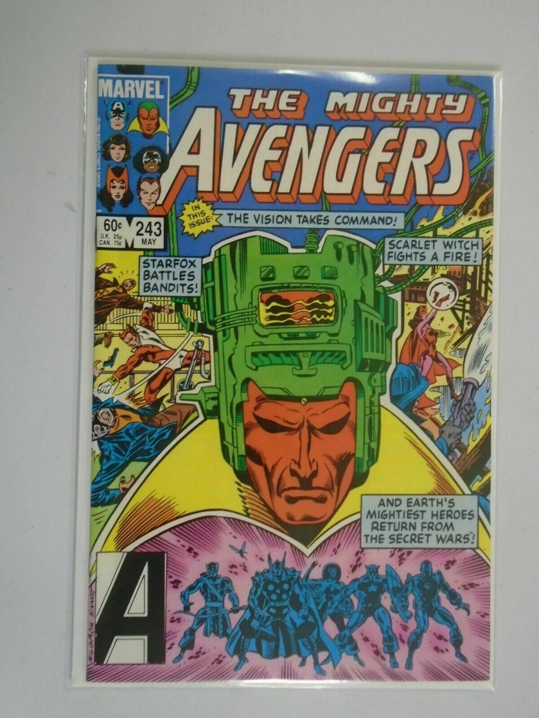 Avengers #243 Direct edition 8.5 VF+ (1984 1st Series)