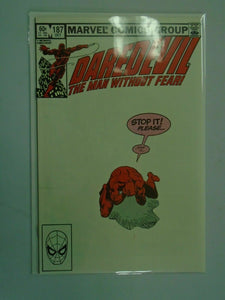 Daredevil #187 Direct edition 8.0 VF (1982 1st Series)