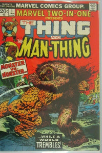 The Thing And The Man Thing  #1 -5.5 FN- (1974)