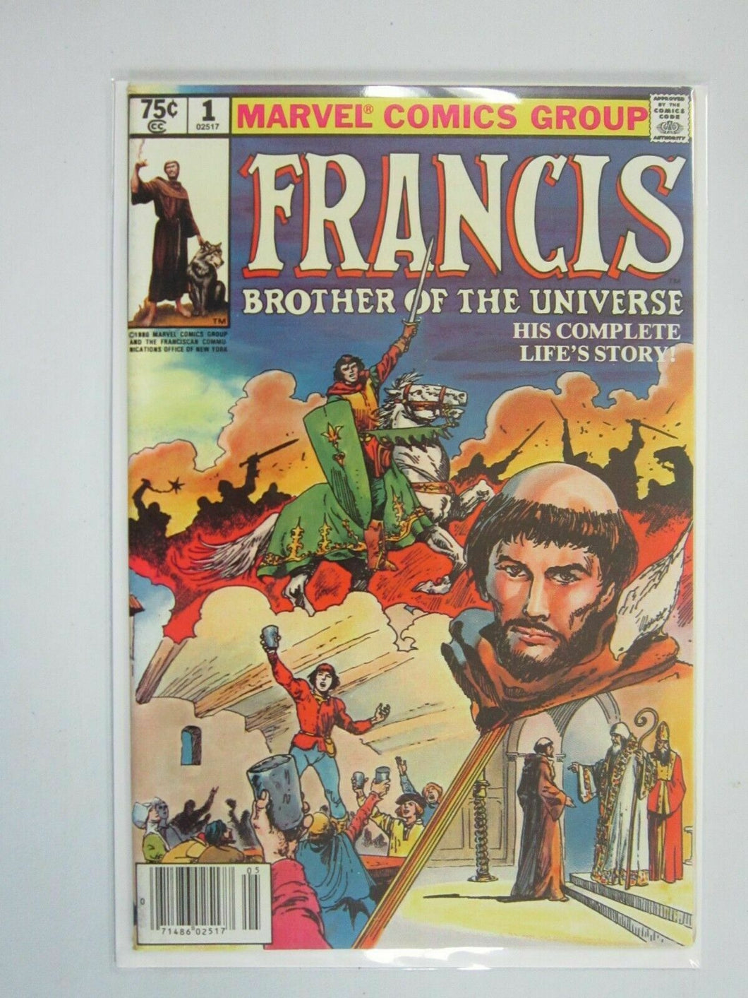 Francis Brother of the Universe #1 8.0 VF (1980)