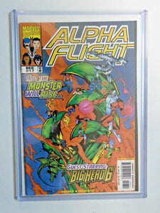 Alpha Flight #17 Second 2nd Series 9.2 NM (1998)
