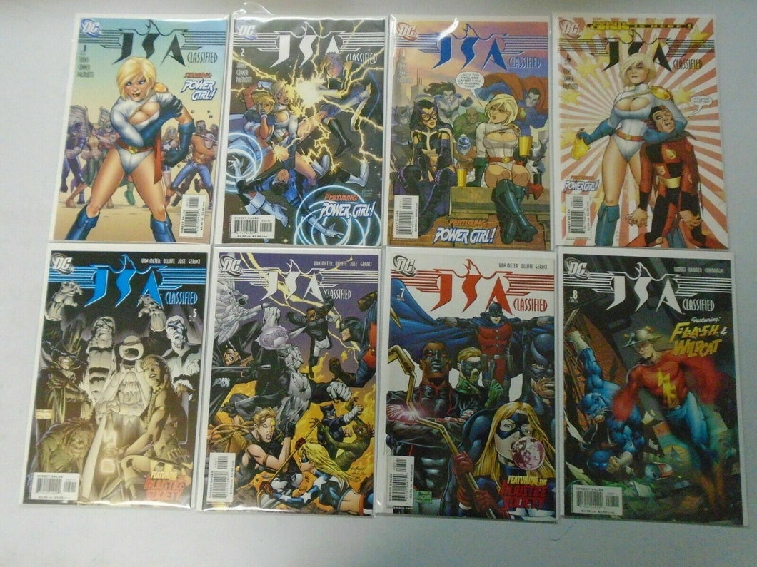 JSA Classified run #1-15 8.0 VF (2005-06)
