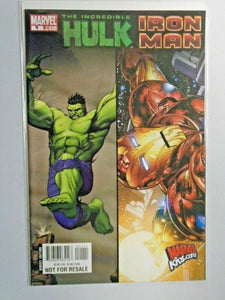 Iron Man Hulk Sampler #1 8.0 VF (2008)