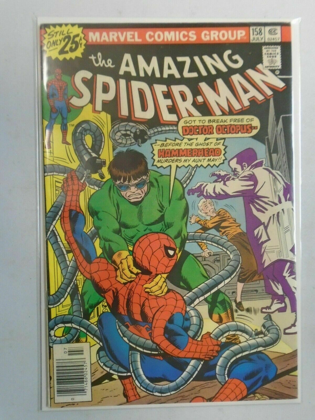 Amazing Spider-Man #158 6.0 FN (1976 1st Series)