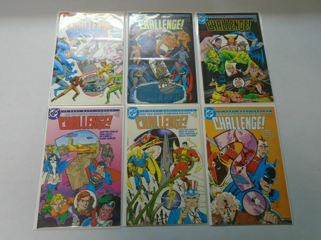 DC Challenge set #1-12 average 7.0 FN VF (1985)