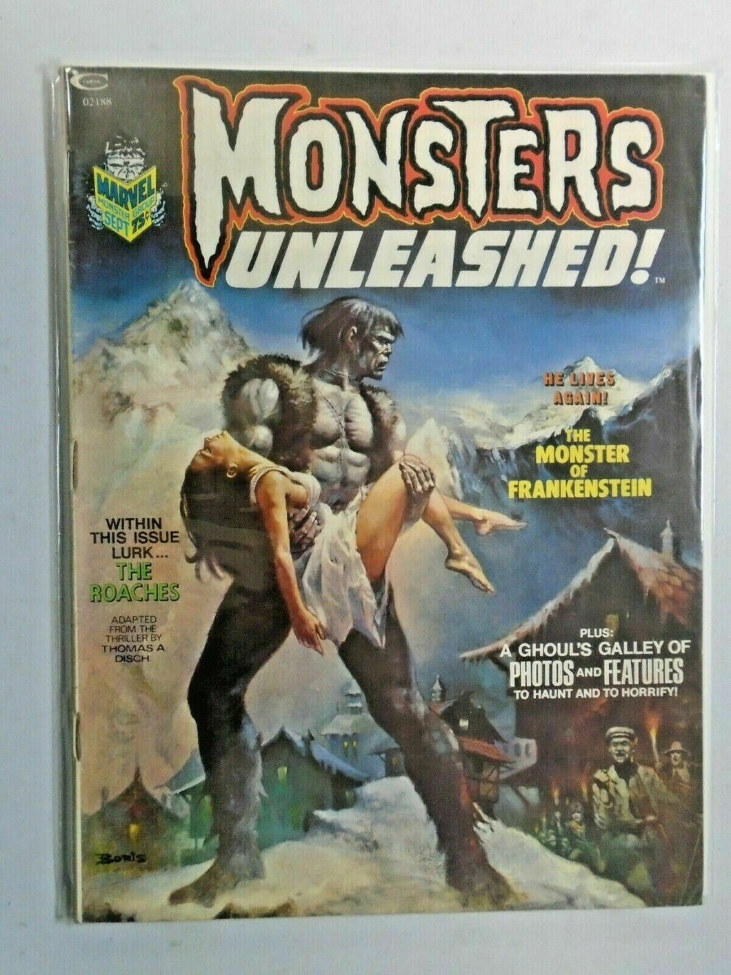 Monsters Unleashed #2 6.0 FN (1973)