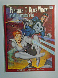 Punisher Black Widow Spinning Doomsday's Web #1 8.0 VF (1992)