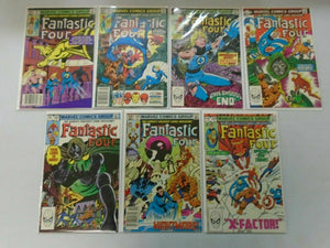Fantastic Four lot 15 different from #222-250 avg 8.0 VF (1980-83)