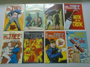 Ms. Tree Comic lot 24 different issues 8.0 VF (1983-87)