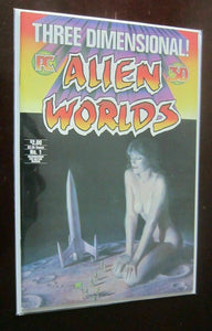 Three Dimensional Alien Worlds #1 W with glasses 6.0 FN (1984) 3D