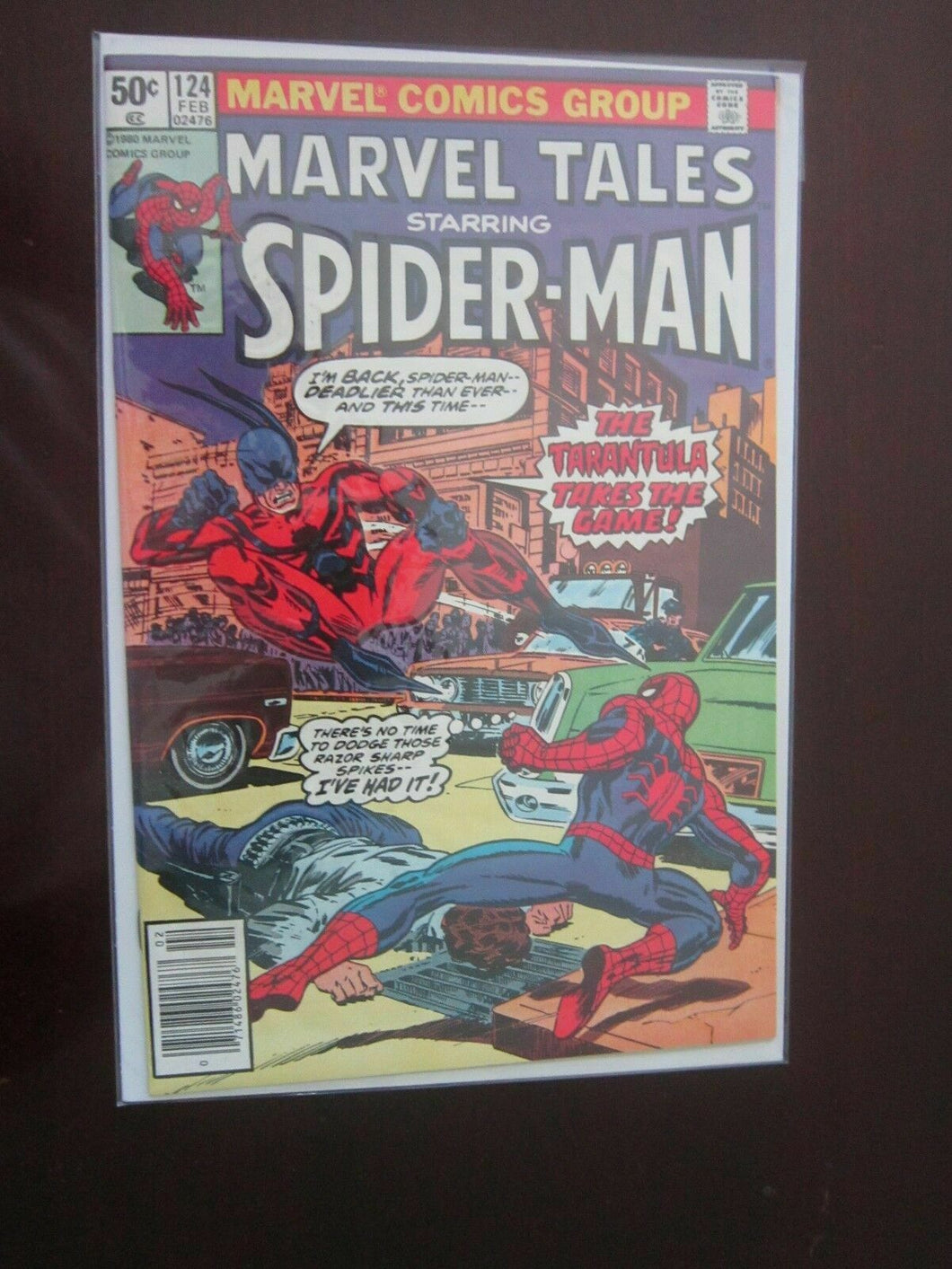 Marvel Tales #124 - SpiderMan - 8.5 - 1981
