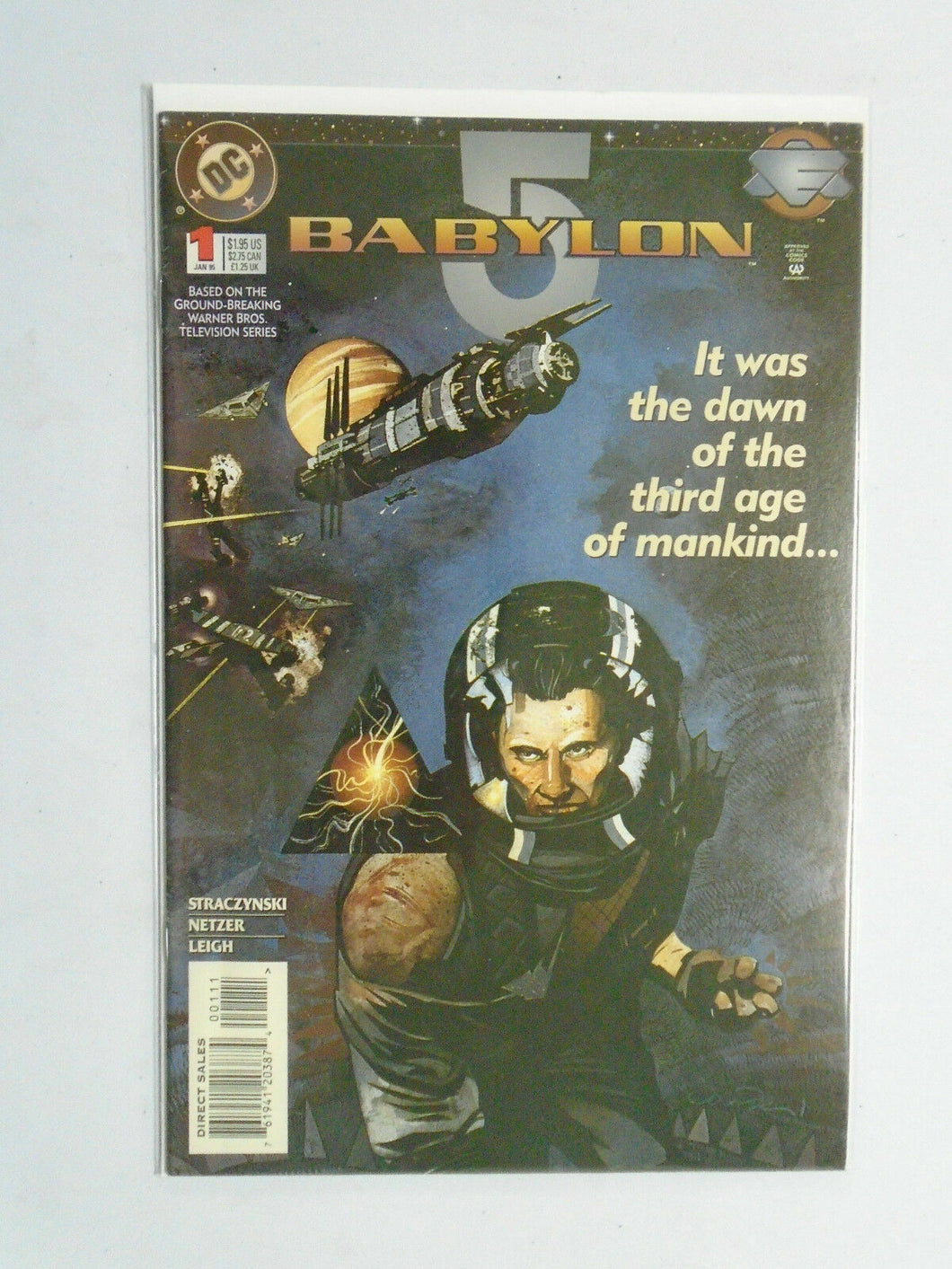 Babylon 5 #1, 8.0/VF (1995)