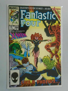 Fantastic Four #286 Featuring Phoenix Direct edition 8.0 VF (1986 1st series)