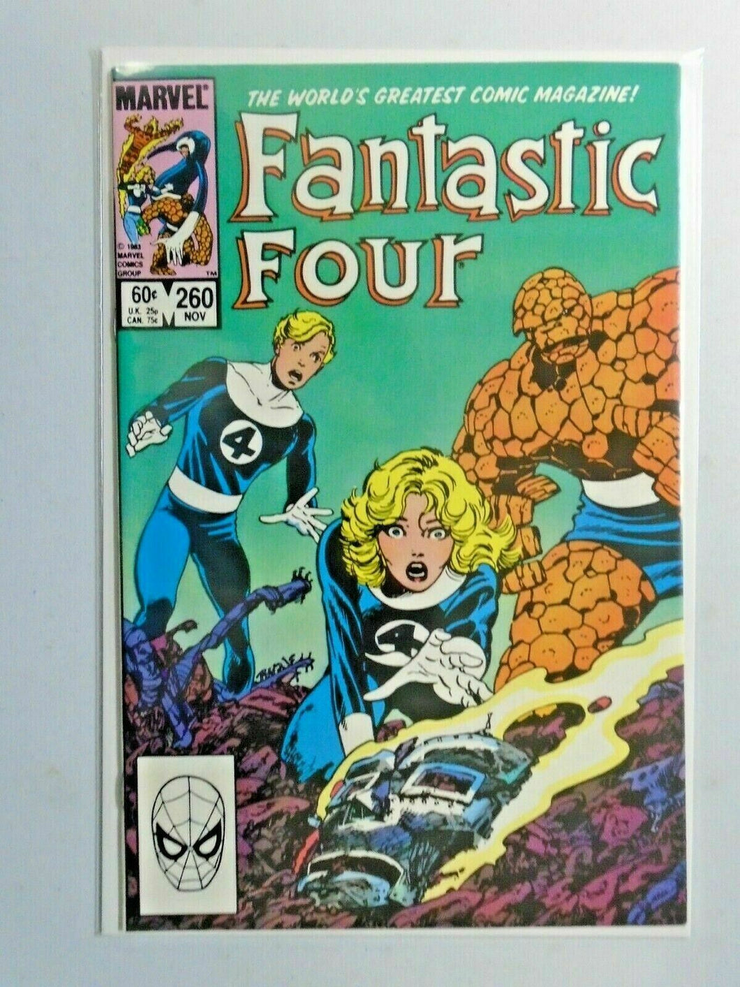 Fantastic Four #260 Direct 1st Series 8.0 VF (1983)