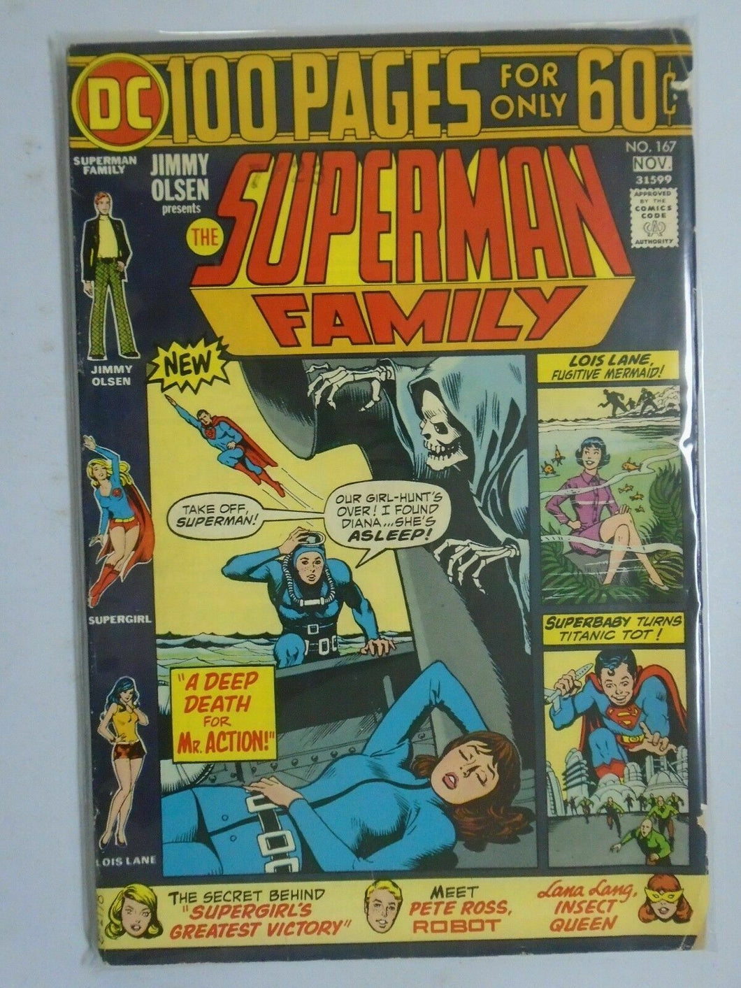 Superman Family #167, 5.0 (1974)