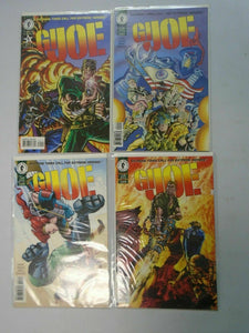 GI Joe set #1-4 8.0 VF (1996 2nd Dark Horse Series)