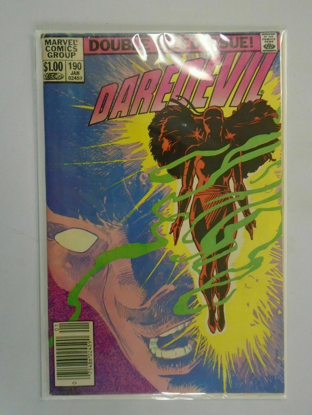 Daredevil #190 Newsstand edition 4.0 VG (1983 1st Series)