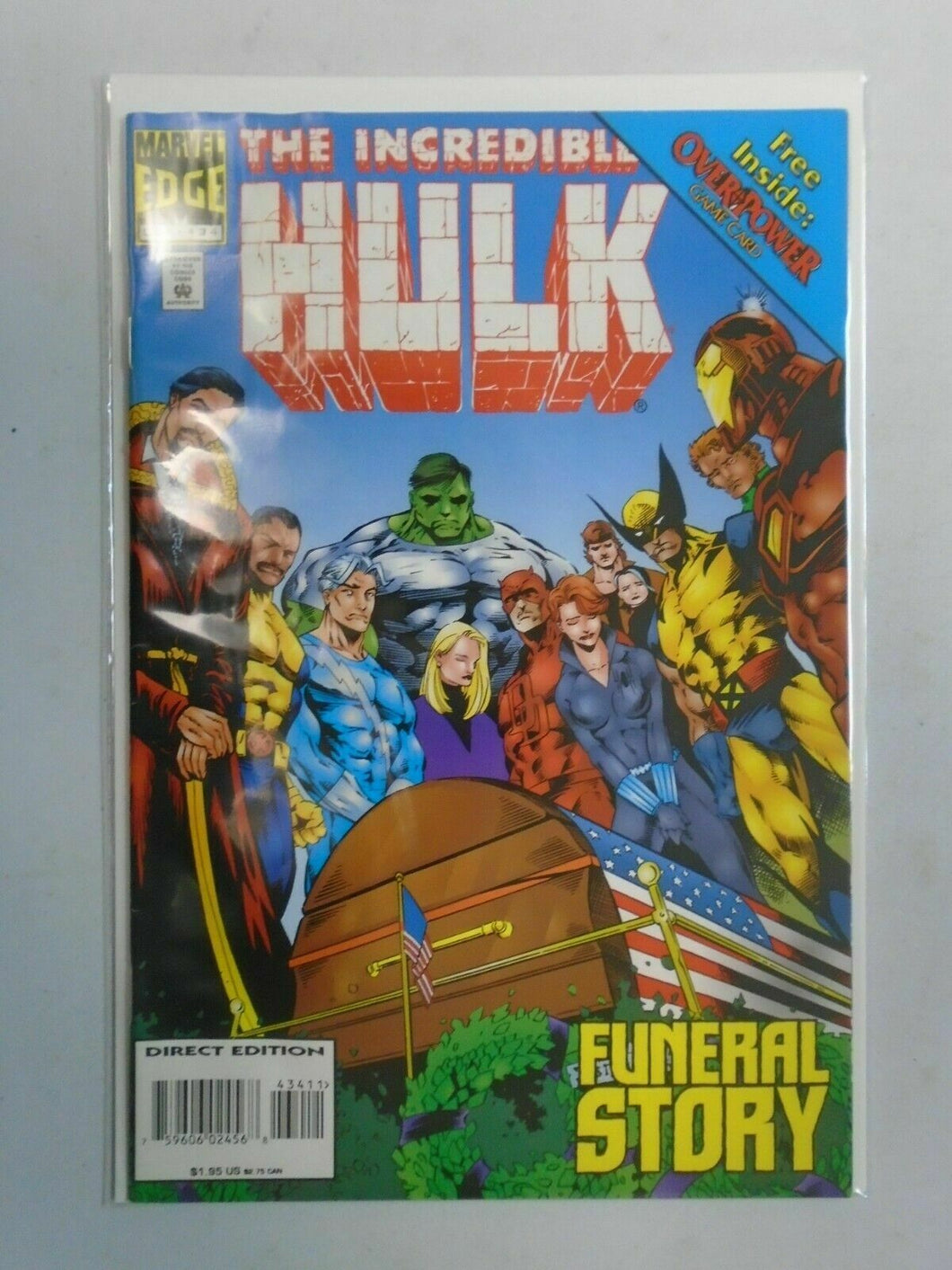 Incredible Hulk #434 4.0 VG water damaged (1995 1st Series)