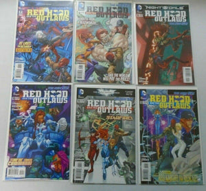 Red Hood and the Outlaws New 52 Run: #0-12 8.0 VF (2011-2012)