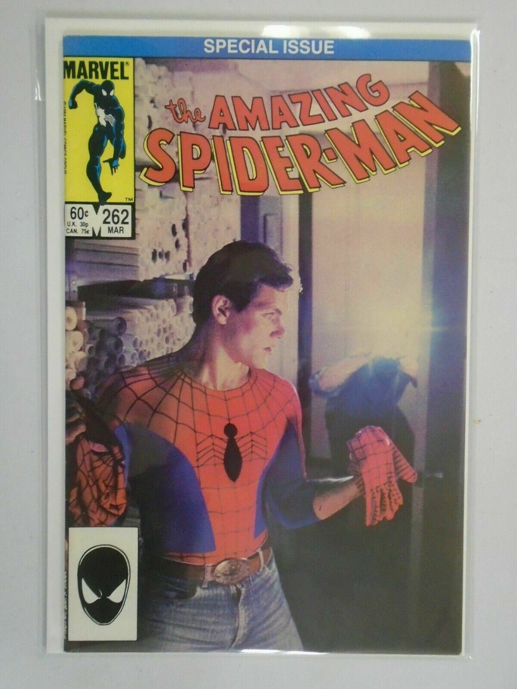 Amazing Spider-Man #262 Direct edition 6.0 FN (1985 1st Series)