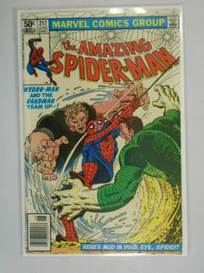 Amazing Spider-Man #217 Newsstand edition 7.0 FN VF (1981 1st Series)