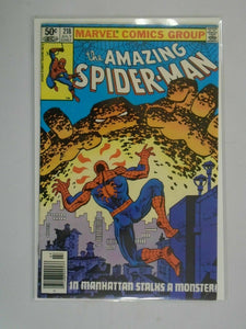 Amazing Spider-Man #218 Newsstand edition 5.0 VG FN (1981 1st Series)
