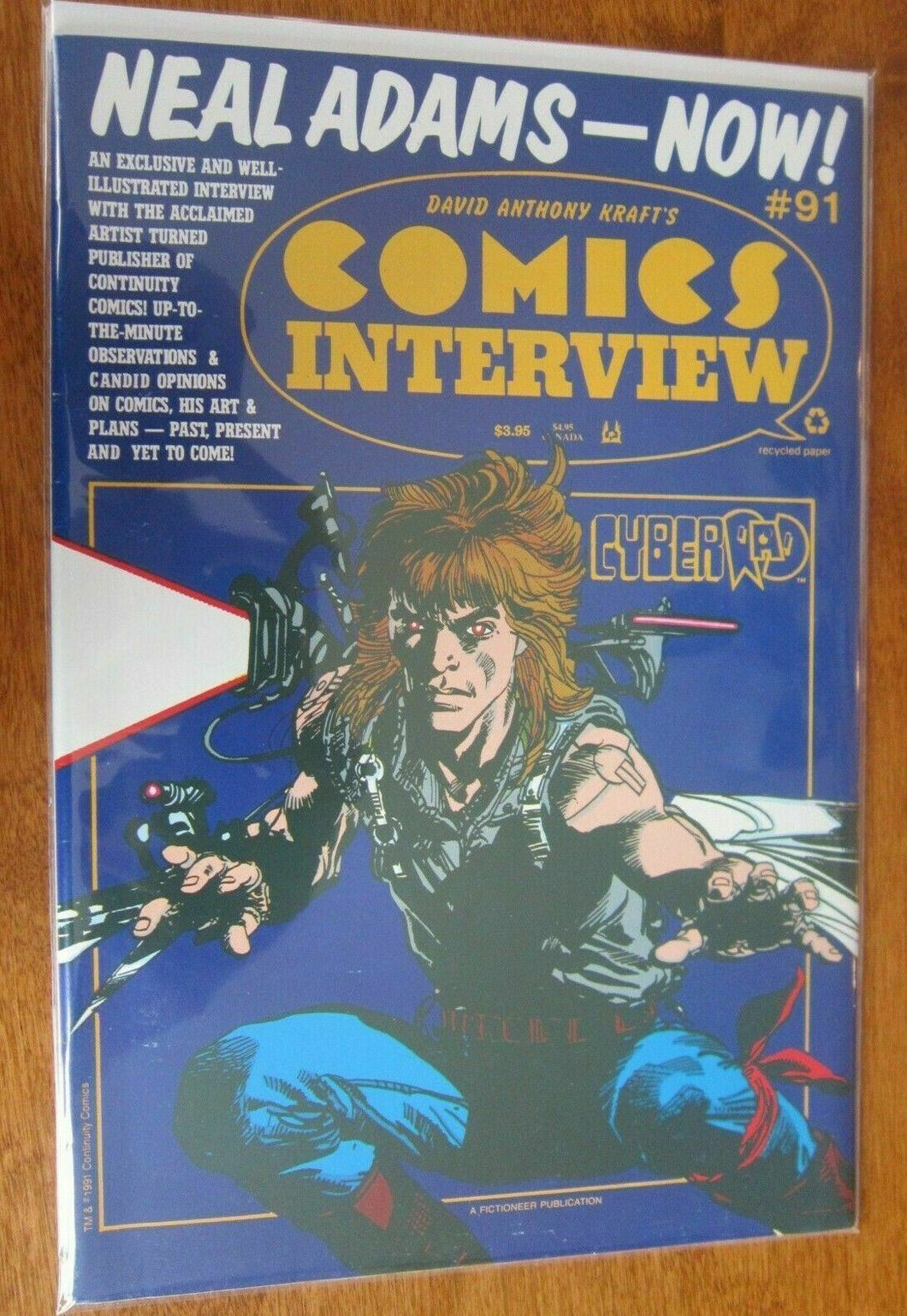 Comics Interview #91 Neil Adams 8.0 VF (1991)