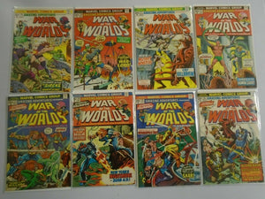 Amazing Adventures lot 15 diff War of the Worlds #19-39 avg 5.0 VG FN (1973-76)