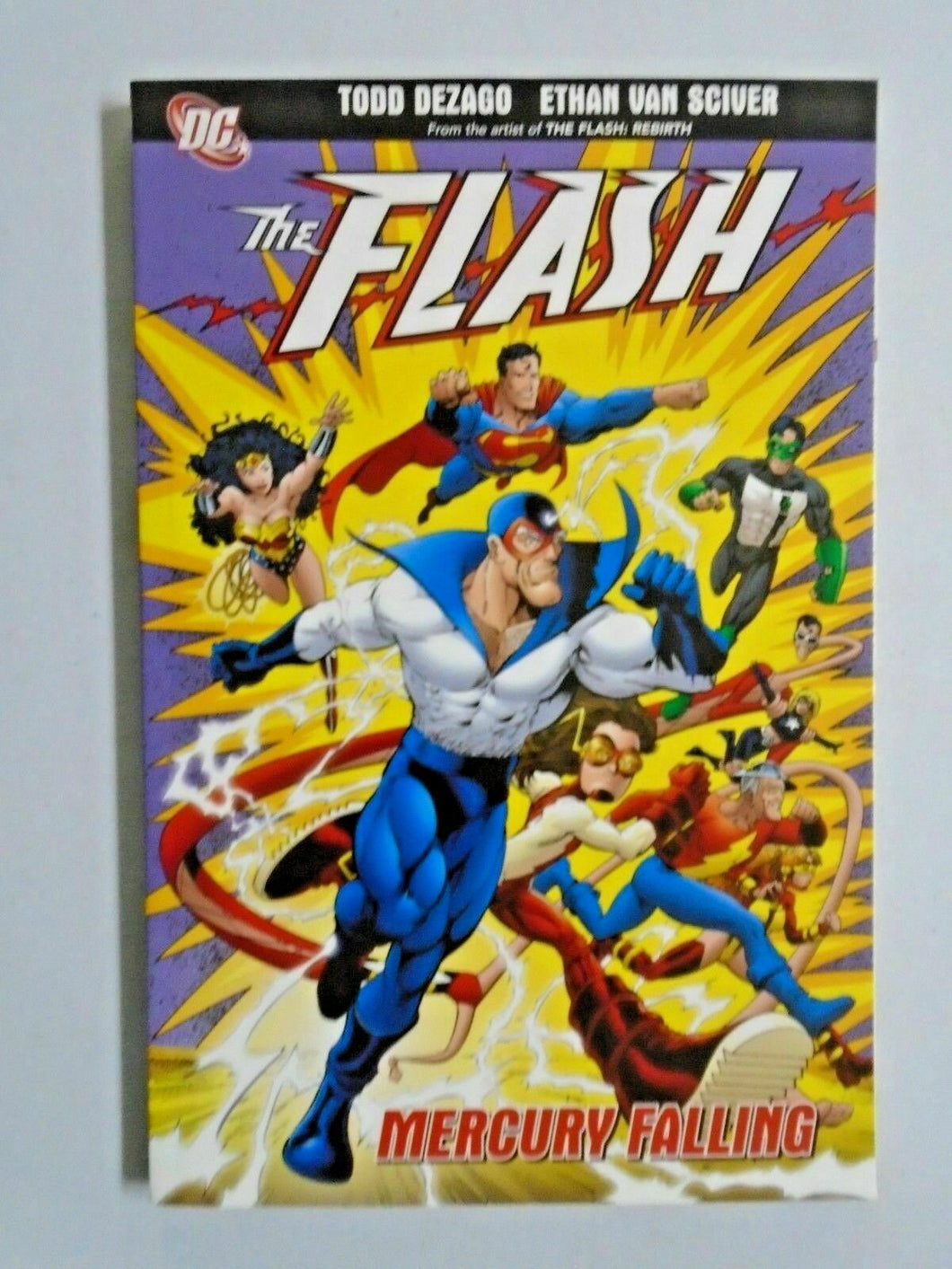 Flash Mercury Falling #1 NM (2009)