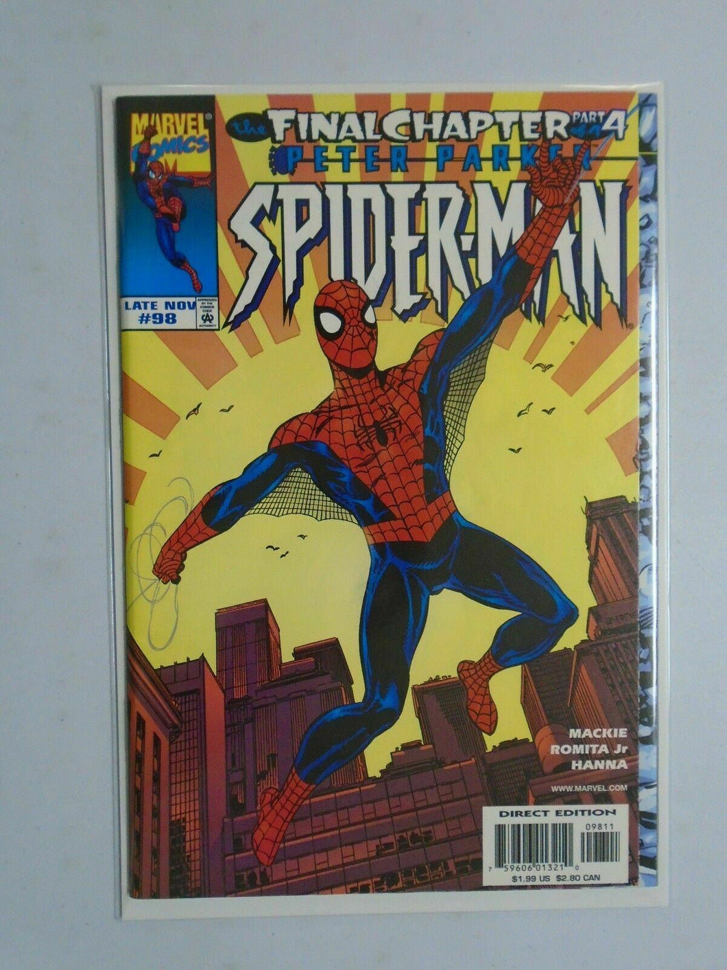 Marvel Spider-Man # 98 7.0 (1998)