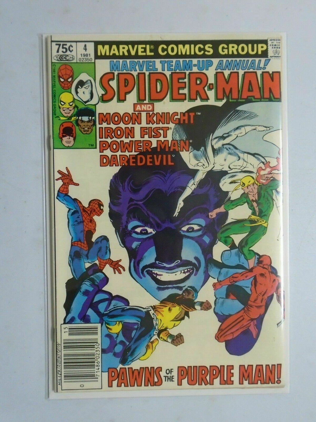 Marvel Spider-Man Ann # 4 N.S. DIR 6.0 (1981)