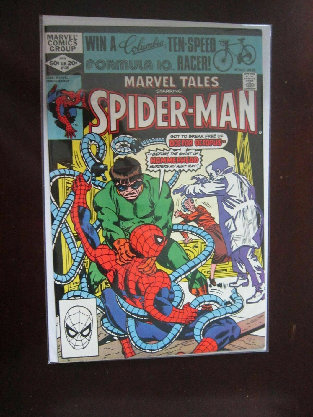 Marvel Tales #135 Direct - Spiderman - 9.2 - 1981