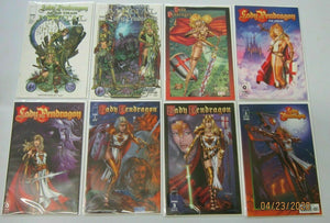 Lady Pendragon comic lot all 19 different average 8.0 VF (modern)
