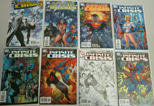 Infinite Crisis set:#1-7 13 different 8.5 VF+ (2005) speical variants
