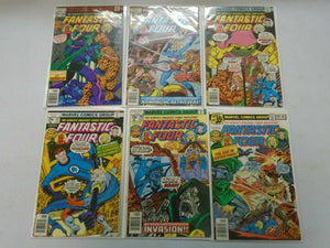 Fantastic Four lot 18 different 35c covers from #188-205 avg 6.0 FN (1977-79)