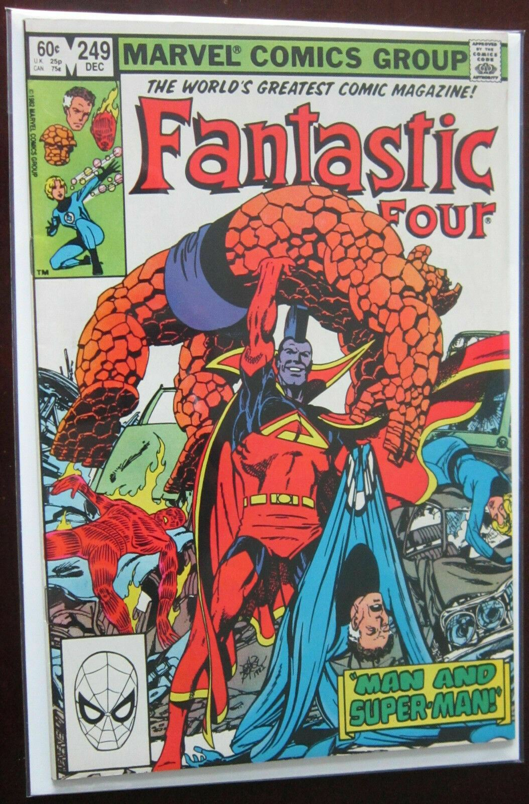 Fantastic Four (1982 1st Series) #249, DIR, 8.0/VF