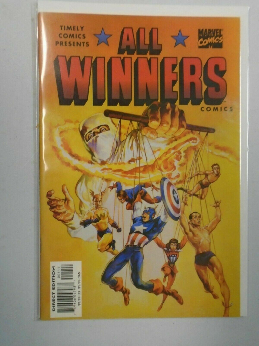 Timely Presents All Winners #1 8.0 VF (1999 Marvel)