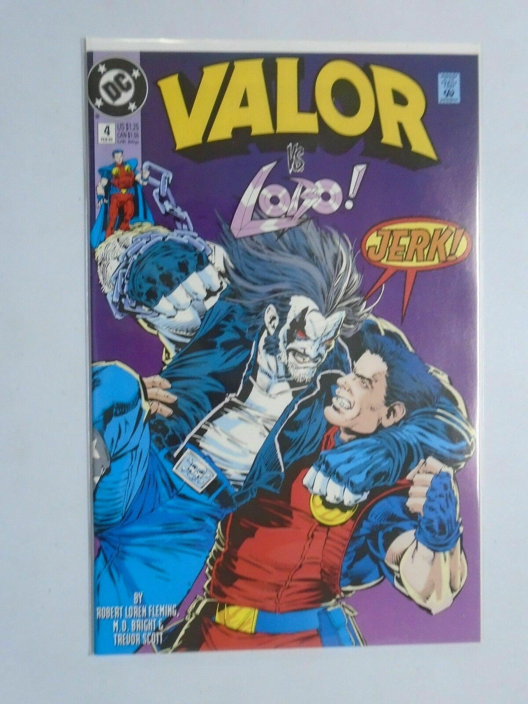 Valor (1992 DC) #4 - 8.0 VF - 1993