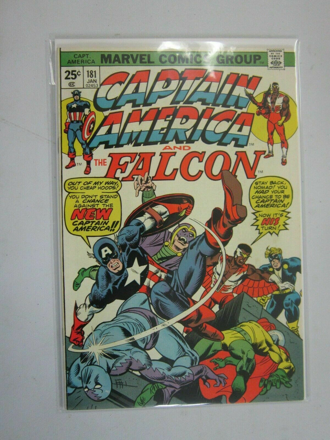 Captain America #181 6.5 FN+ (1975 1st Series)