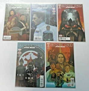 Star Wars Rogue One comic run #2 to #6 8.0 VF 5 different books (2017)