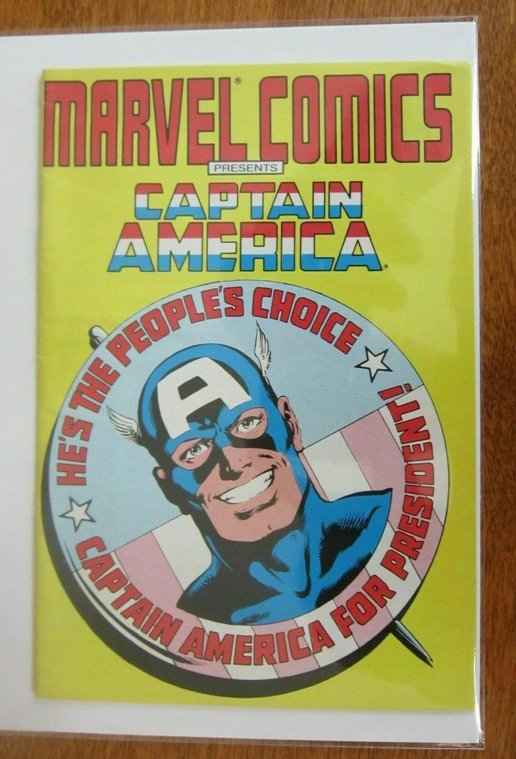 Marvel Comics Presents Captain America Mini Comic #250 4.0 VG (1987)