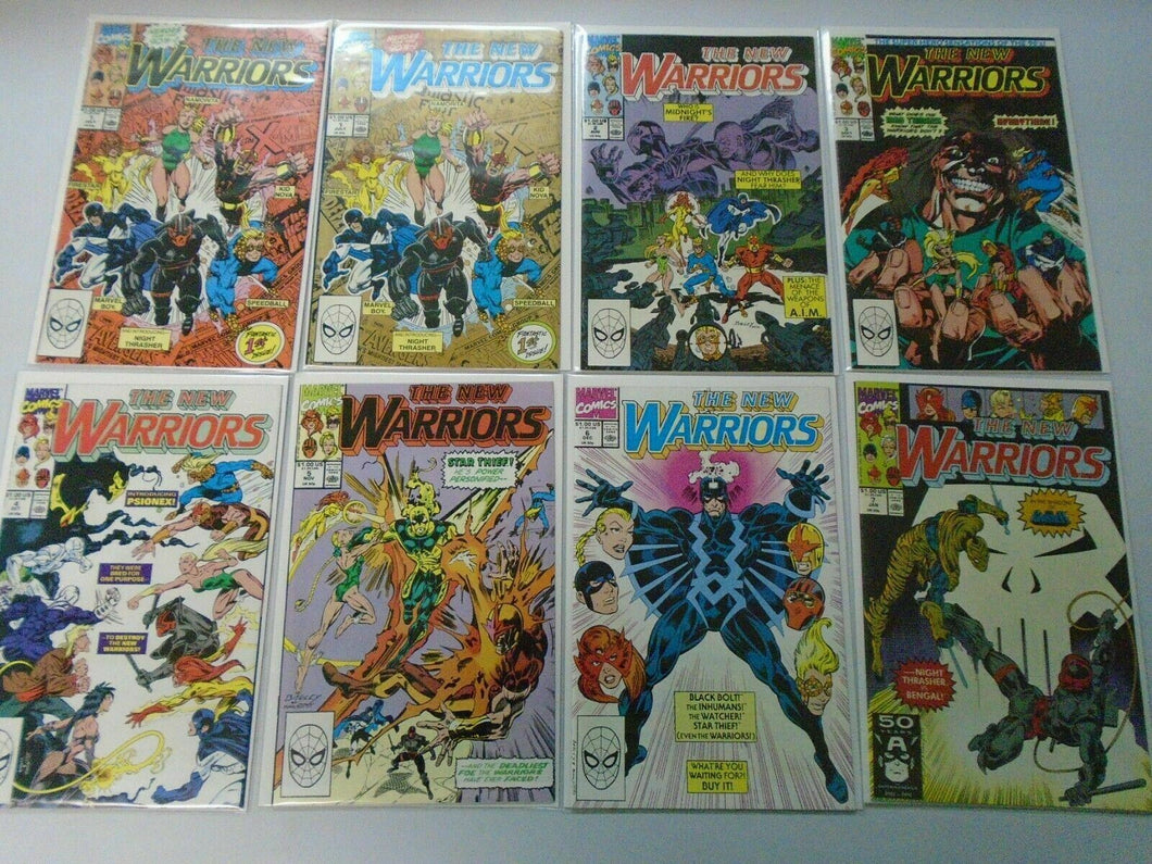 New Warriors lot 49 different from #1-51 NM (1990-94 1st Series)