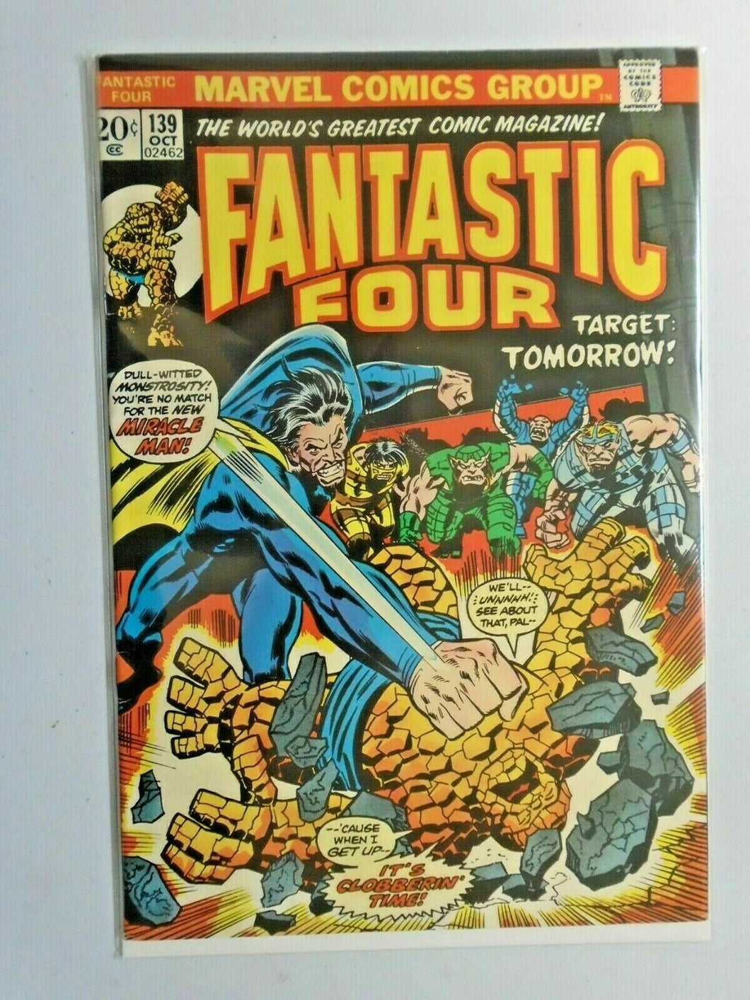 Fantastic Four #139 1st Series water damage 5.0 (1973)