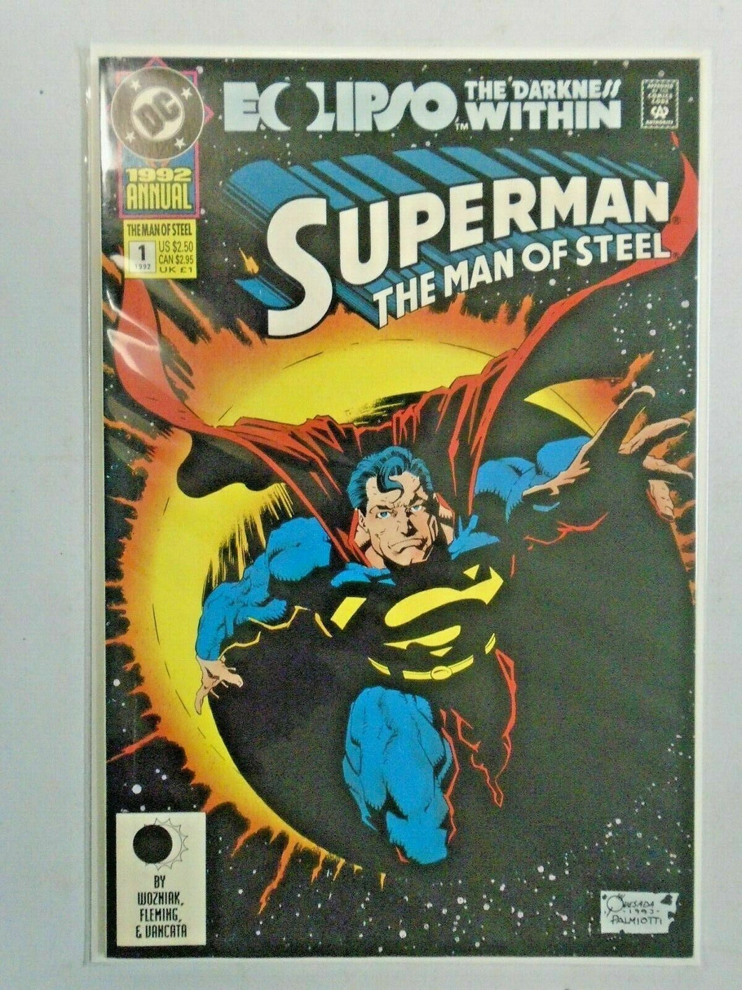 Superman The Man of Steel Annual #1 8.0 VF (1987+91)