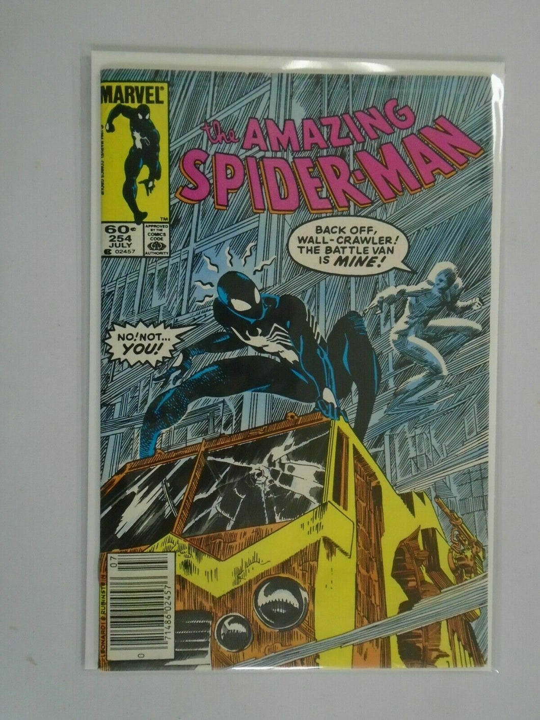 Amazing Spider-Man #254 Newsstand edition 6.0 FN (1984 1st Series)