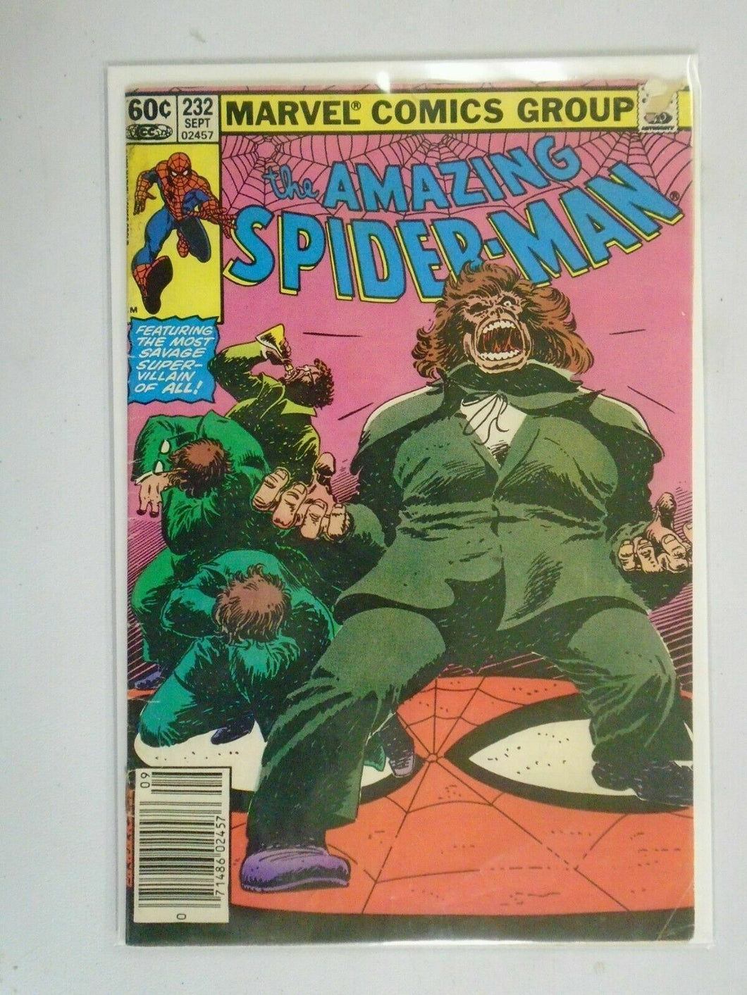 Amazing Spider-Man #232 Newsstand edition 4.0 VG(1982 1st Series)