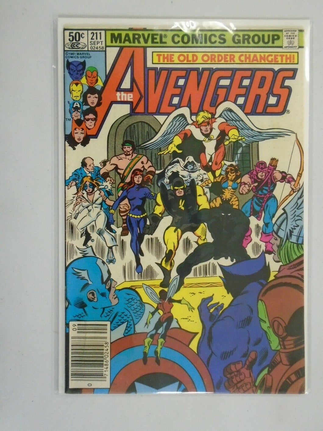 Avengers #211 Newsstand edition 5.0 VG FN (1981 1st Series)