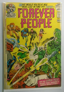 "Forever People (1st Series) #7 ""Jack Kirby"" 5.5 (1972)"