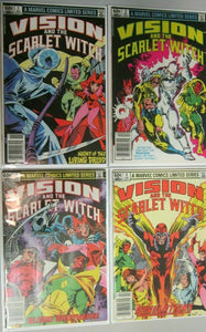 Vision and The Scarlet Witch 1st series set:#1-4 6.0 FN (1982)