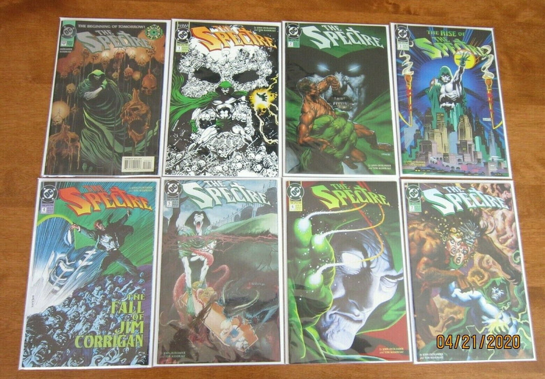 Spectre lot from:#0-17 3rd Series all 13 different 6.0 FN (1992 1994)